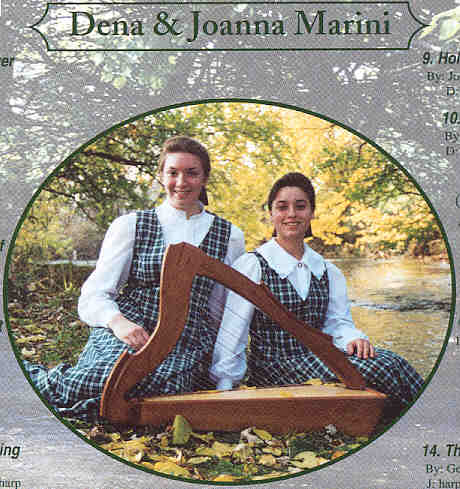Picture of Dena And Joanna Marini that was taken in August of 2001